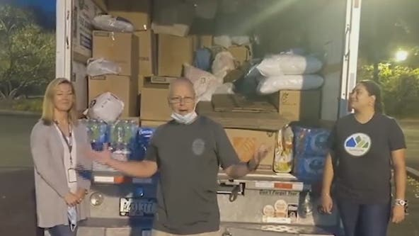 Canton police, citizens help hurricane victims in Central America