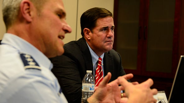 Gov. Doug Ducey defends Arizona's voting integrity, silences Trump's call