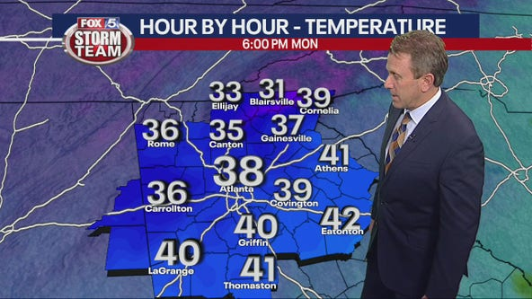 Winter Weather Advisory issued for north Georgia