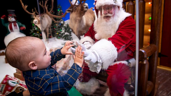 Georgia businesses host contactless Santa visits during pandemic