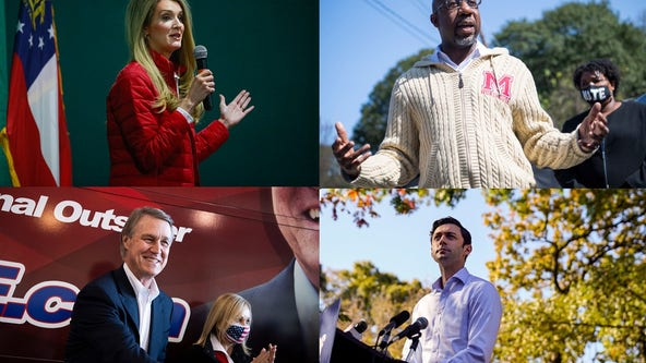 Senate candidates, GOP chairwoman hit the campaign trail ahead of runoff