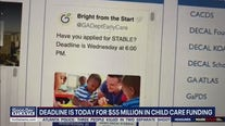 Deadline for Child Care Funding looms