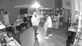Burglary suspect caught on camera breaking into Gwinnett County cell phone repair shop
