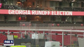 Early voting takes over Mercedes-Benz Stadium