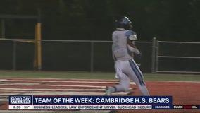 Team of the Week is the Cambridge High School Bear