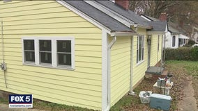 Veteran's home gets special upgrade in time for Christmas