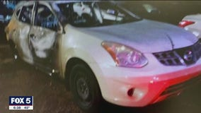 First responders come to mother's rescue a second time after vehicle fire