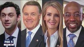 Georgians turnout in record number for U.S. Senate runoff