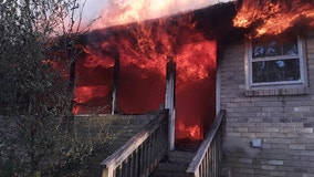 Fire ravages Duluth home