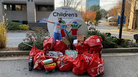 Fourth grader raises over $2,000 to buy Christmas presents for kids in hospital