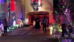 On the Sith Day of Christmas: 'Star Wars' holiday display lights up California home