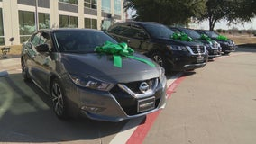 North Texas company donates new cars to four COVID frontline workers