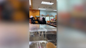 Teenage Dunkin' Donuts employee attacked by customer with knife
