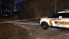 2 young children dead, woman found injured at Hall County home