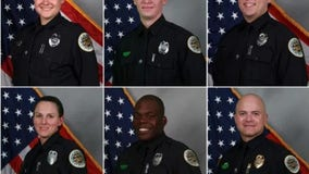 6 Nashville police officer hailed heroes for evacuating residents ahead of bombing