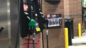Woman warns others after car is stolen while pumping gas