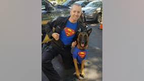 Brookhaven K-9 officer retires on 10th birthday