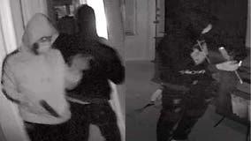 Burglary seen on video carrying handgun breaks into Chamblee apartments
