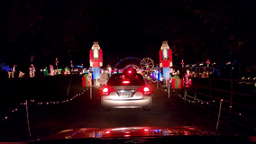Georgia family's Christmas lights tradition busier than ever during pandemic
