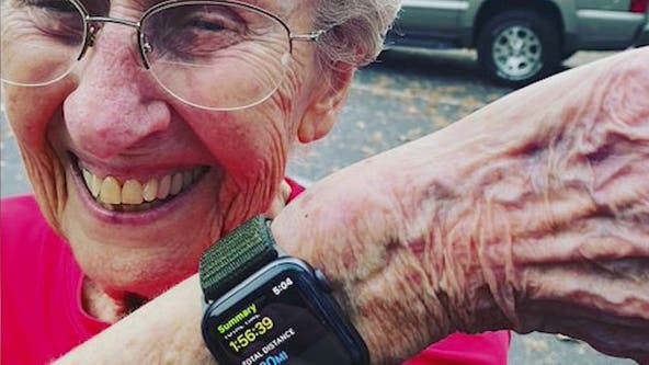 96-year-old Georgia woman continues tradition of running Peachtree Road Race