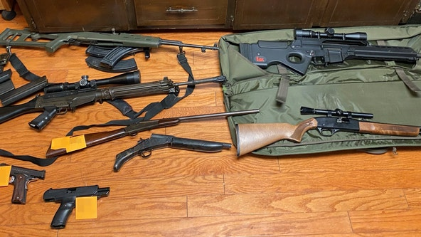 7 arrested after authorities find drugs, guns and explosive devices in Cherokee County home