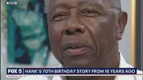 When Hank Aaron turned 70