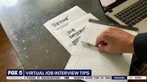 Virtual job interviews