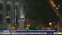 John Lewis memorial to replace Decatur Confederate monument