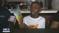 10-year-old author inspires readers