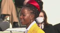 LA native Amanda Gorman makes history as youngest inaugural poet