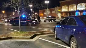 Police: Woman shot in leg during attempted robbery in Edgewood shopping center