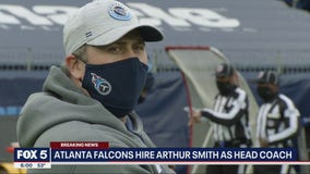 Falcons hire Arthur Smith as head coach
