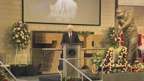 Atlanta Braves Chairman remembers Hank Aaron