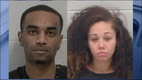 Couple accused of eating pot and worse during car chase