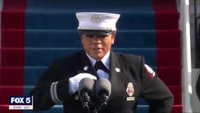 City of South Fulton fire captain at the Inauguration