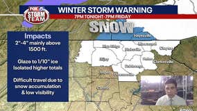 Thursday Afternoon Forecast- Winter Storm Warning