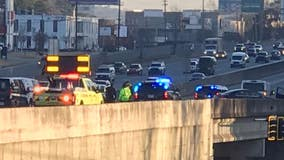 Deadly accident investigation shuts down lanes of I-85 near N Druid Hills
