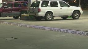 Man shot at DeKalb County gas station, police search for suspect
