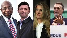 Georgia U.S. Senate runoff election results
