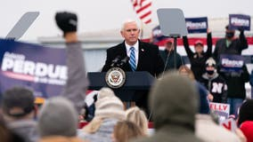 Vice President Pence going back to Georgia day before Senate runoffs