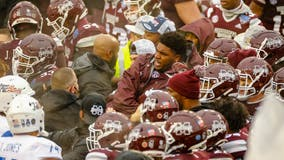 Brawl mars Mississippi State's Armed Forces win over Tulsa