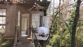 Travelers find peace in Atlanta's secluded intown treehouse