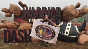 Polk County man to run 100 miles with 2 hatchets for wounded special operations warriors