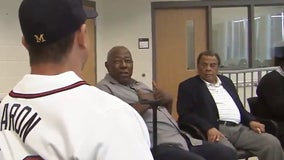 Andrew Young fondly remembers his friend Hank Aaron