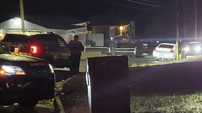 Man found dead inside burning car on Atlanta road