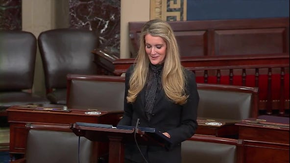 Sen. Kelly Loeffler makes farewell speech to U.S. Senate