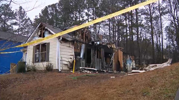 Douglasville family loses everything in house fire