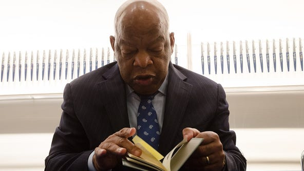 Memorial to John Lewis replacing Decatur Confederate monument