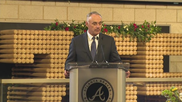 MLB commissioner on the impact of Hank Aaron
