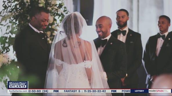 Atlanta wedding vendors give frontline worker her dream wedding